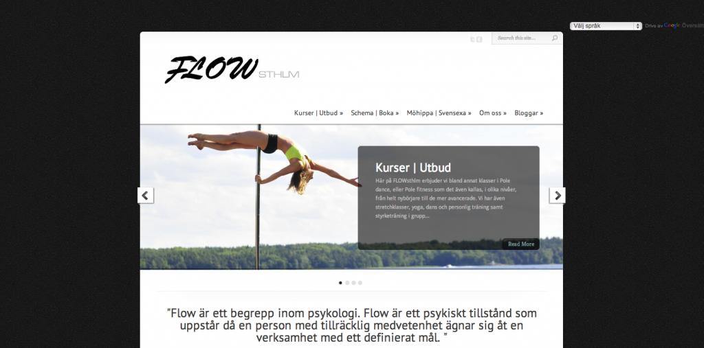 FLOWsthlm - Startsida